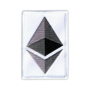 Ethereum - logo Embroidered PATCH/BADGE