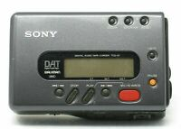 Sony portable dat player recorder TCD-D7 sony walkman digital audio tape recorde