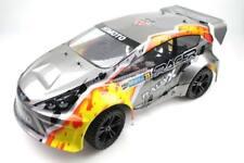Himoto 1/10 4WD Rally Car, 2.4GHz -RTR- inkl. NiMH-Akku und Ladegerät -silber-