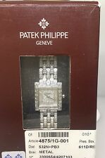 PATEK PHILLIPE GONDOLO PAVE DIAMOND LADIES WATCH 4875/1G WITH BOX AND PAPERS