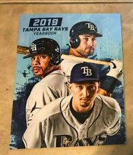 Tampa Bay Rays Official 2019 Baseball Yearbook NEW shipped in a Box