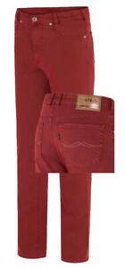 JOKER Jeans CLARK STRETCH 3455-0705 rot Herrenjeans leicht red %SALE%
