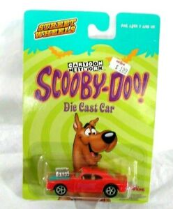 RACING CHAMPIONS STREET WHEELS SCOOBY-DOO CAMARO DIE CAST  2003 HDTF NEW