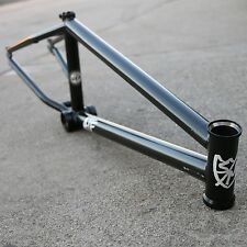 "S&M BMX BIKE ATF 21"" BICYCLE FRAME BLACK MADE IN USA SUNDAY FIT CULT STRANGER"