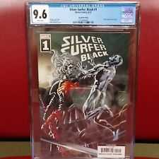 Silver Surfer Black #1 2nd Print 9.6 CGC Knull CameoDeodato Variant