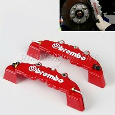 4PCS 3D Car Brake Caliper Cover BREMBO Style Front Rear Universal Disc Racing