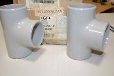 Georg Fischer 63 MM D63 DN50 PN16 GF 723 200 111 PVC-C Plastic Tee