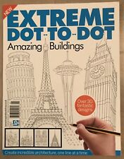 Extreme Dot To Dot Amazing Buildings Fantastic Designs #1 2017 FREE SHIPPING JB