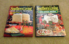 Holiday Recipe Cookbooks Books 2 Southern Living 2001 & 2006 Christmas Deserts