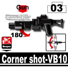 VB-10 (W222) Corner Shot Rifle Compatible with toy brick minifigures Army