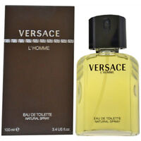 VERSACE L' HOMME edt 3.3 / 3.4 oz Cologne for Men 3.4 New in Box