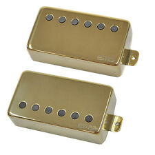 EMG 57 / 66 Alnico V Active Neck & Bridge Humbucker set gold free ship