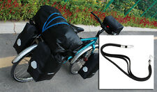 LKLM Pannier Rubber Strap for Outdoor Touring Luggage Bandage Not Easy Broken