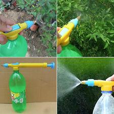 Mini Juice Bottles Interface Plastic Trolley Gun Sprayer Head Water Pressure NJ
