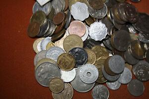 Münzen aus aller Welt 1kg mit mind. 25% aus exotischen oder arabischen Ländern