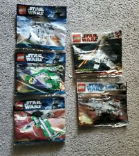 LEGO STAR WARS BRICKMASTER LOT 20016, 20009, 20021, 20018, 20019