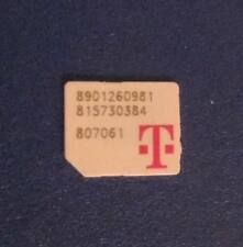 Lot of 5 T-Mobile Micro size SIM Cards No Service for Test/Bypass only