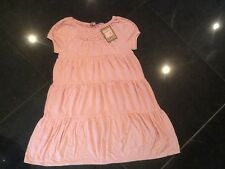 NWT Juicy Couture New Girls Age 8 Pink Soft Cotton Short Sleeve Summer Dress