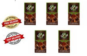 5 x 100 gm El yemeni coffee 10% cardamom light roast Egyptain coffee