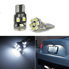 2pc Practical Xenon White 13-SMD T10 2825 LED Bulbs For Car License Plate Lights