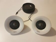 Philips Portable Compact Active Speaker System SBA1500 White & Black