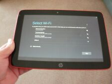 """HP Slate 10 3610EA HD Beats Audio 10.1"""" Android Tablet Working (Red)"""