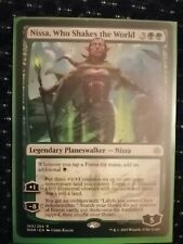 Nissa Who Shakes The World [Rare] NM, War Of The Spark, MTG