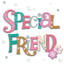 To A Special Friend Happy Birthday Greeting Card By Talking Pictures Cards