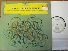139 122 Ralph Kirkpatrick Harpsichord Recital SAMPLE PRESSING