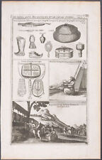 Chatelain - Northern Europe; Crafts & Wares - 1718 Atlas Historique Engraving