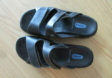 Wolky Walking Sandal Adjustable US 7.5 EU 38 Black