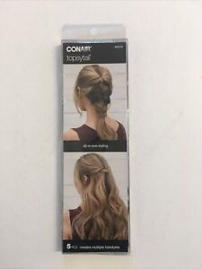 New Conair Topsy Tail Kit 5 pc Hair Styles Hairstyling