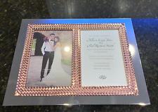 Lenox Aegean Rose Gold Double Invitation Photo Frame 5x7