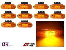 10x 24 V DEL Amber Orange Side Marker lights Indicateur Remorque Camion Camion