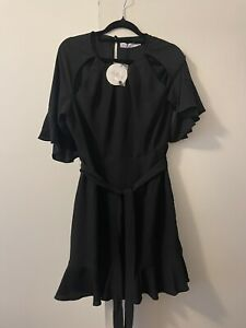 Atmos & Here (from The Iconic) Dress Size 12 Black - Party Summer Spring