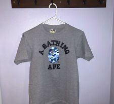 BAPE T Shirt Grey/Blue Size Small Checkout My Instagram @premets.hall.of.flame