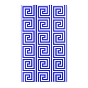 Greek Key Area Rugs Retro Vintage Funky Pattern  Carpet-3 sizes to Choose From