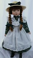 Anne of Green Gables Limited Edition Porcelain Doll 16 in