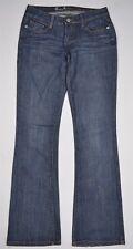 Guess Dark Wash Blue Stretch Denim Belmont Flare Leg Jeans Sz 26