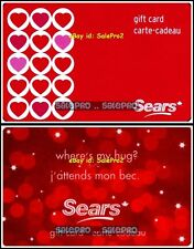 2x SEARS HOT RED & PINK LOVE WHERE'S MY HUG? RARE COLLECTIBLE GIFT CARD LOT