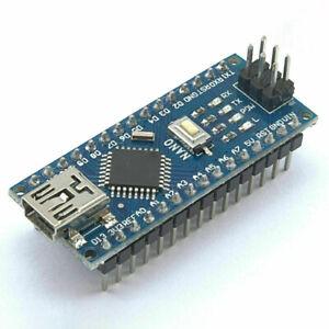 Mini USB (Arduino Nano - Compatible) V3.0 ATmega328P 5V 16MHz SOLDERED HEADERS
