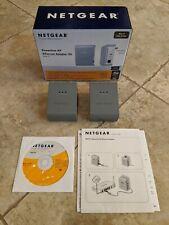 Netgear Powerline AV Ethernet Adapter Kit XAVB101