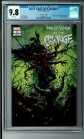 Web of Venom: Cult of Carnage #1 Crain Variant (2019) CGC 9.8  COA 1487/1500