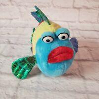 "GANZ Webkinz Pucker Fish 9"" Plush + Beanie *No Code*"