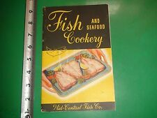 JD702 Vintage Mid-Central Fish Co Recipe Booklet Red Snapper Creole