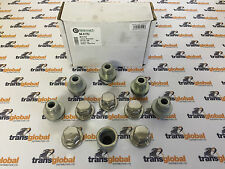 Land Rover Discovery 2 V8 / TD5 Locking Alloy Wheel Nuts & Covers x5 - OEM Parts