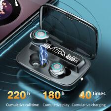 Bluetooth 5.0 Headset TWS Wireless Earphones Mini Earbuds 9D Stereo Headphones