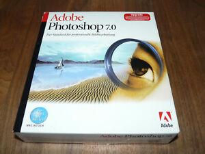 Adobe Photoshop 7.0 Vollversion deutsch für Mac