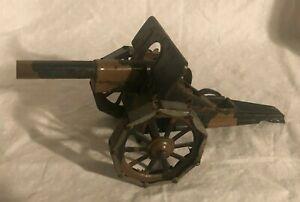 Vintage Tin Marklin Toy Cannon Elastolin Field Gun