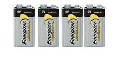 4 Energizer Industrial 9 Volt (9V) Alkaline Batteries (EN22, 6LR61, 1604)